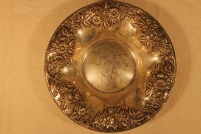S. Kirk & Sons Floral Repousee Bowl