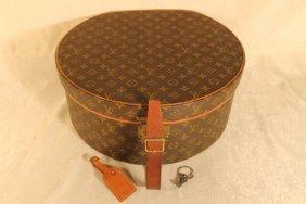 """Monogram Louis Vuitton """"boite Chapeaux"""" Hat Box"""