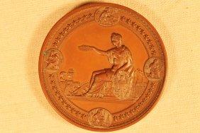 1876 International Exhibition Bronze Medal