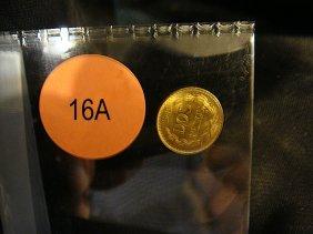 1945 Gold Mexican DOS-PESOS
