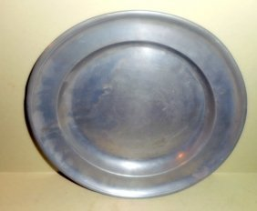 Continental Pewter Plate I.b. Ambrose