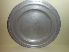 James Dixon And Son Pewter Plate