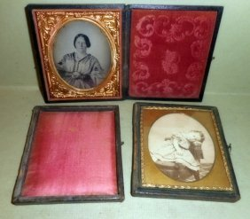Victorian Ambrotype And Victorian Photo