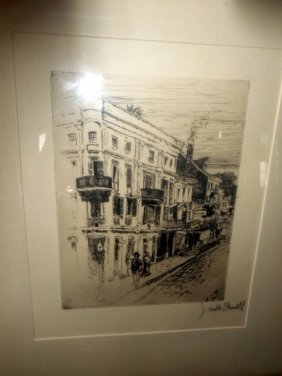 Etching By Joseph Pennell