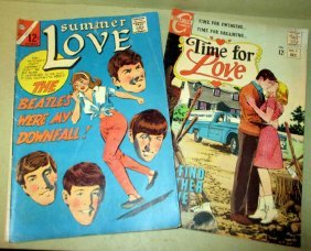 Two 1960s Comic Books Featuring The Beatles