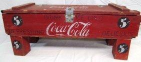 Home Made Coca-cola Ammo Box ~ Chest ~ Coke Crate