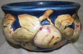 Vintage Weller Pottery Fruitone Pattern Bowl