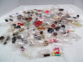 Large Lot (a) Of Vintage Buttons / All Packaged ~ Some