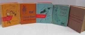 Retro Dick, Jane & Sally Reading Books ~ 1940's -