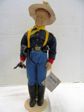 "Vintage (48) Effanbee 17"" John Wayne American Guardian"