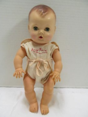 """Vintage (155) 12"""" Tiny Tears Crying Baby Doll In"""