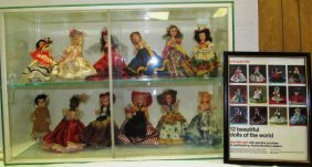 Vintage (164) Complete Set ~ 12 Beautiful Dolls Of The