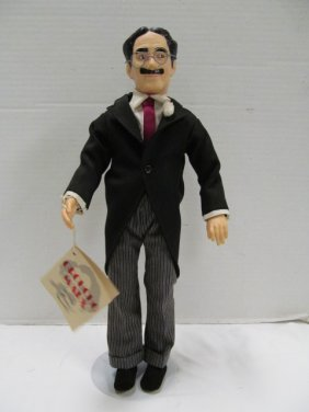 "Vintage (108) Effanbee 1983 Groucho Marx 16 1/2"" Doll"