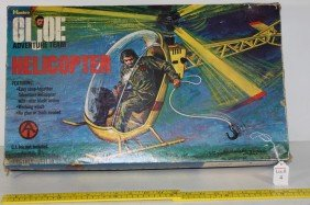 GI Joe Adventure Team Helicopter In Org. Box By Hasb