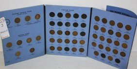 Indian Head Cent Partial Book With Flying Eagles