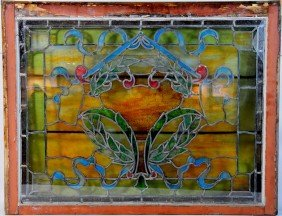 36x27 Stained Glass Window