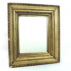 Gold Gilt Deep Frame  Mirror 32 X 27