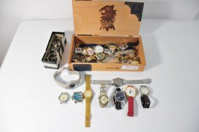 Group Of Mens And Ladies Wrist Watches