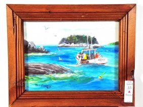 Bill Paxton Casco Bay Harbor Lobster Boat Scene 11