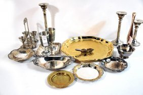 Silverplate And Decorative Items