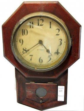 "18"" Seth Thomas Regulator Clock"