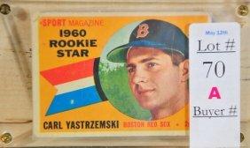 1960 Carl Yastrzemski Rookie Card #148 Soft Corner