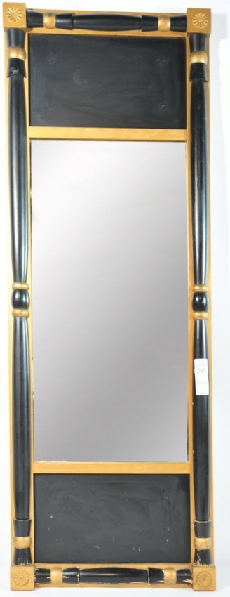 249 42 long x 15 wide hanging mirror labeled on the for Long wide mirror