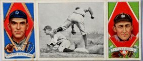 1912 T-202 Hassan Ty Cobb/George Moriarty, Featuring Ty