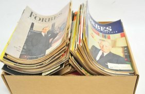55 1940's And 50's Forbes Magazines