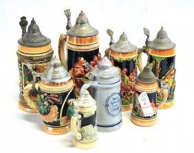 8 German Steins