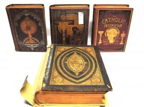 Collection Of Four Antique Books