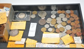 Collection Of Estate Coins