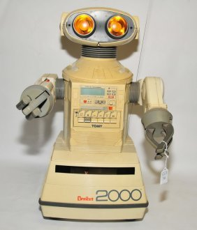 1985 Omnibot Robot Toy