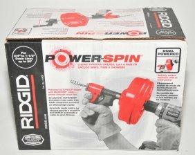 Rigid Powerspin Drain Cleaner