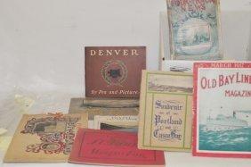 Vintage Travel Brochures And Booklets