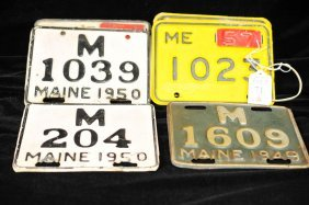 Excellent Collection Of Motorcycle Plates