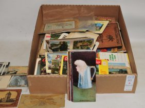 Collection Of Postcard Foldouts And More
