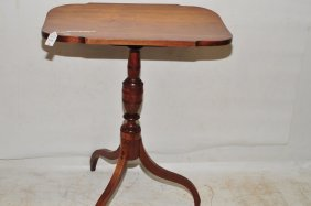 Antique Pine Side Stand 29x22 Top