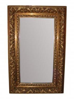 19th C. Giltwood Mirror