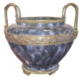 French Style Ceramic Glazed Jardinere