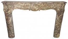 18th Century French Marble Mantle