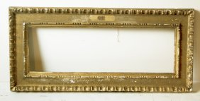 Italian 18th C. Hand Carved Cassetta Frame
