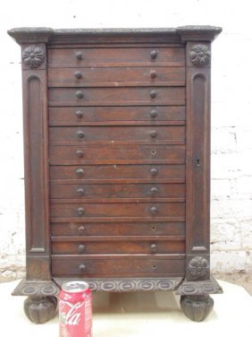 Rosewood Miniature Sidelock Cabinet