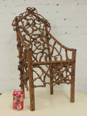Adirondack Rustic Child's Chair
