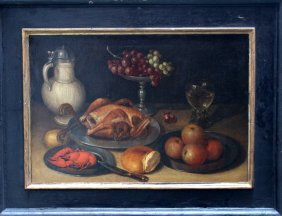 Clara Peeters (1594-1658)-attributed, Still Life With