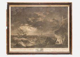 Claude Joseph Vernet (1714-1789), Engraving Of The