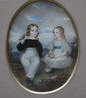 Leopold Fertbauer (1802-1875) And Geymüller-attributed,
