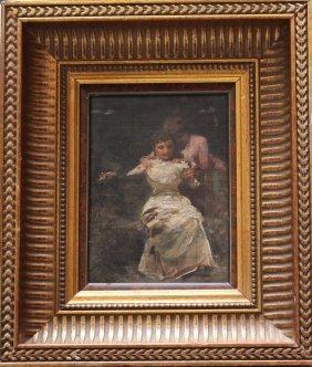 Italian Artist, 19. Century, Two Ladys Reading A