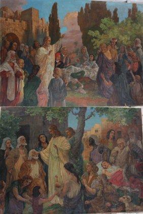 Johann Viktor Krämer (1861-1949)-attributed, Pair Of