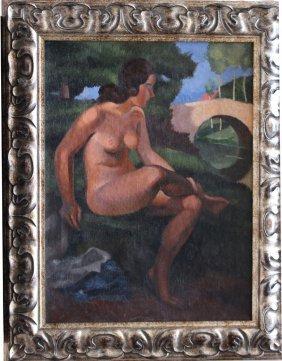 Sava Šumanovi? (1896-1942)-attributed, Female Nude By A